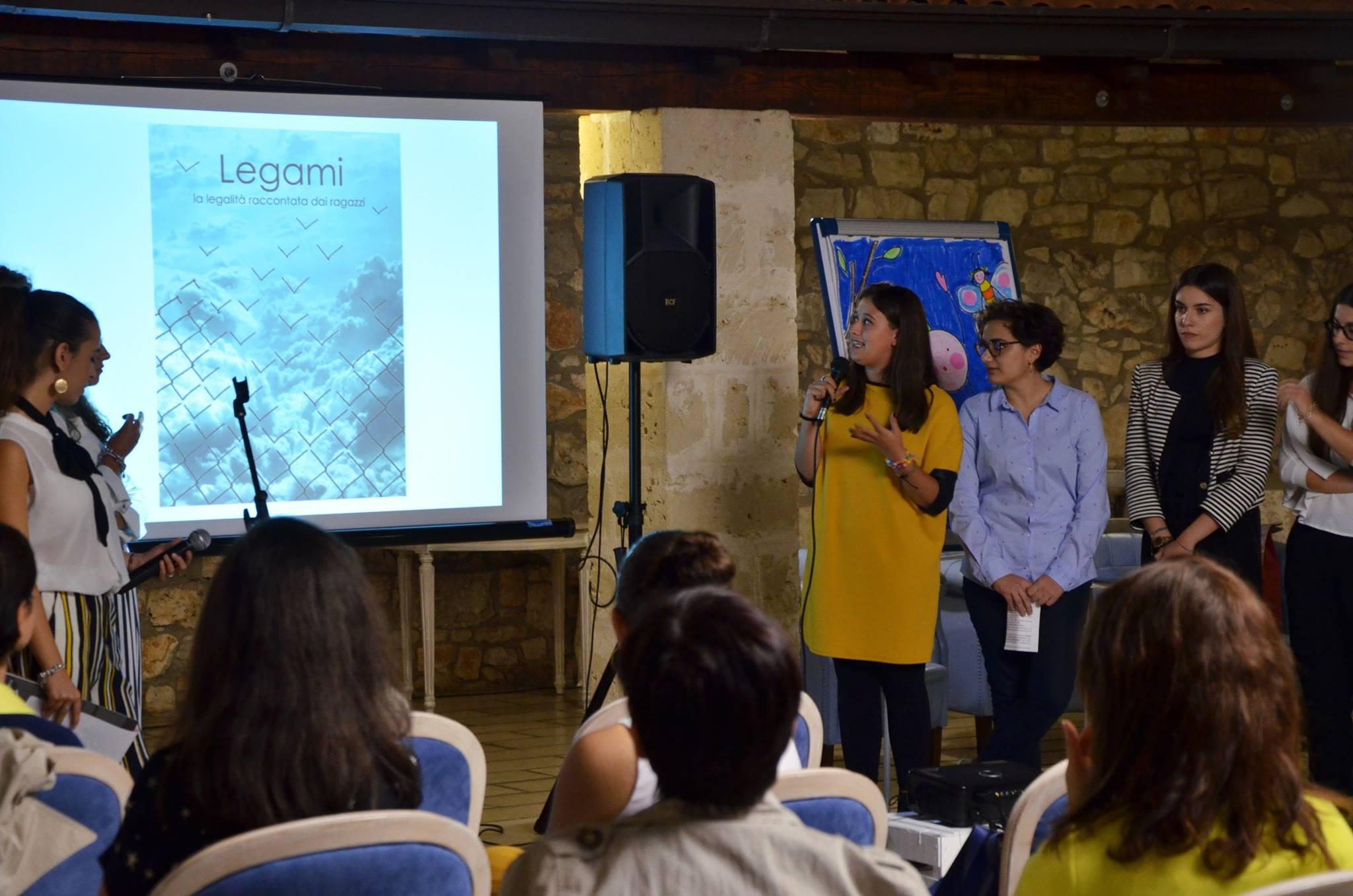 """Presentazione di """"LEGAMI"""" durante la Festa del Lettore presso masseria Mofetta"""
