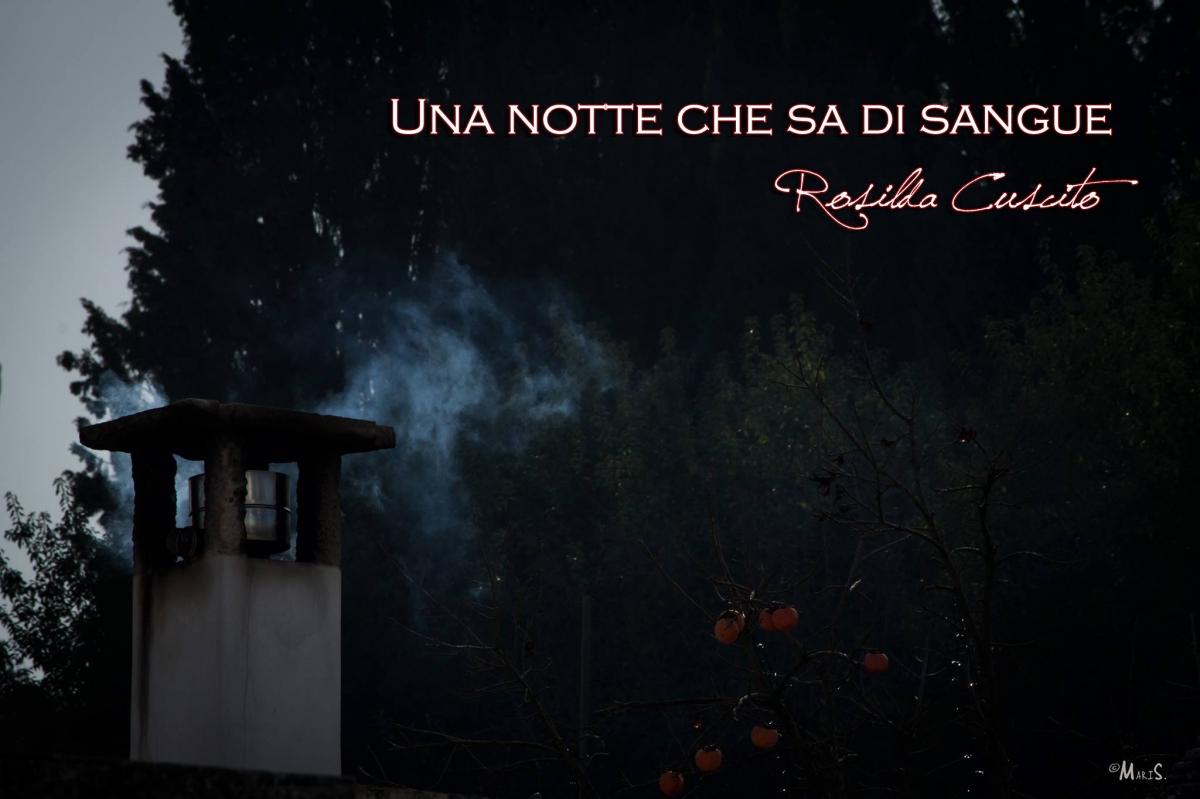 10) una notte che sa di sangue- ROSILDA